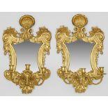Paar Spiegelappliken im Barockstil