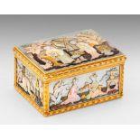 Museale Louis XV-Gold-Tabatiere von Claude Perron mit