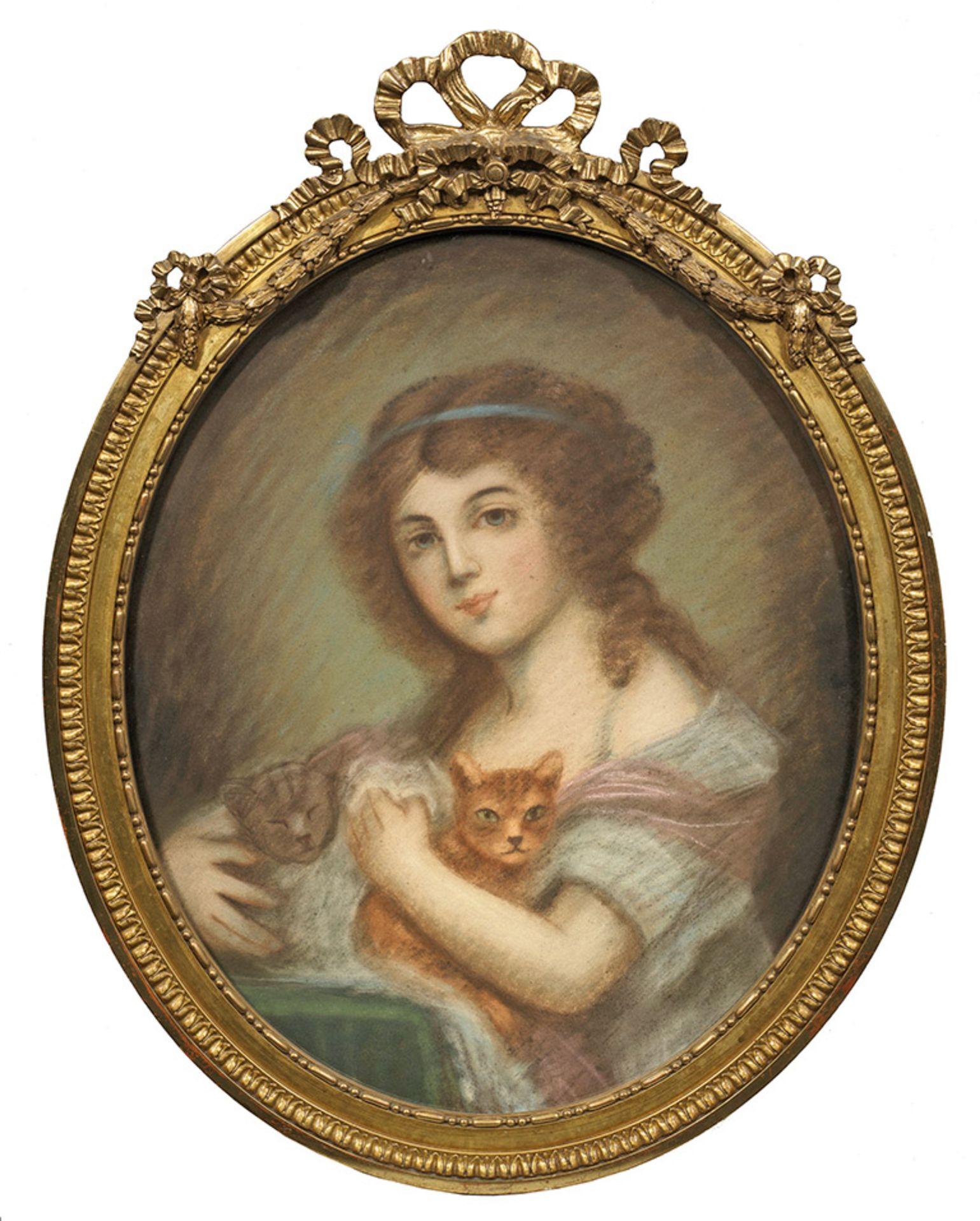 Britischer oder französischer Bildnismaler
