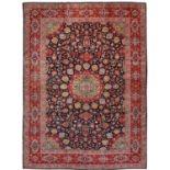 Großer signierter Keschan-Teppich