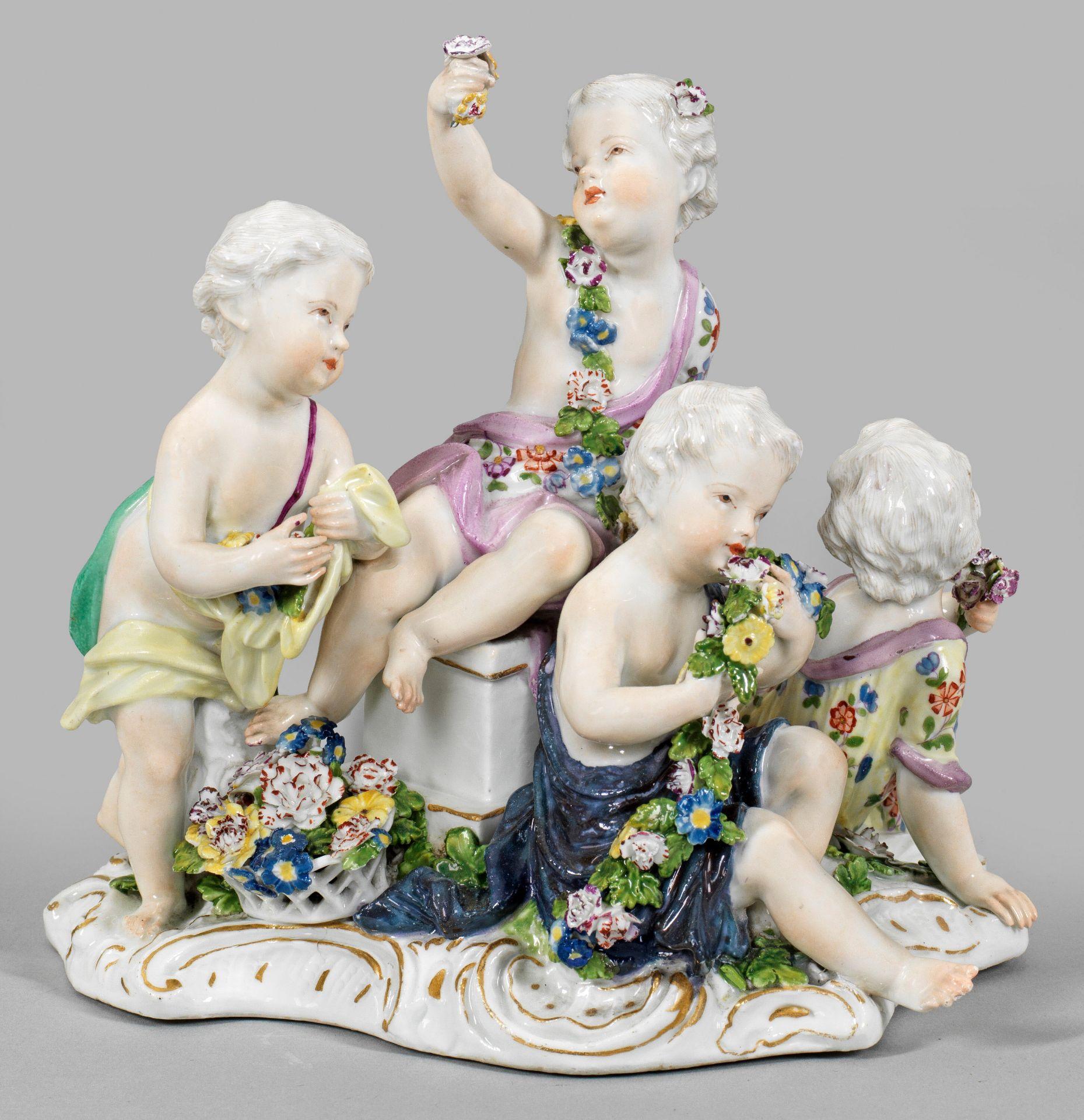 "Allegorische Figurengruppe ""Der Frühling"""