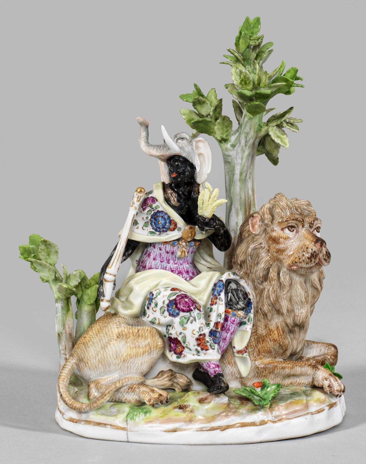 Allegorische Figurengruppe von Afrika
