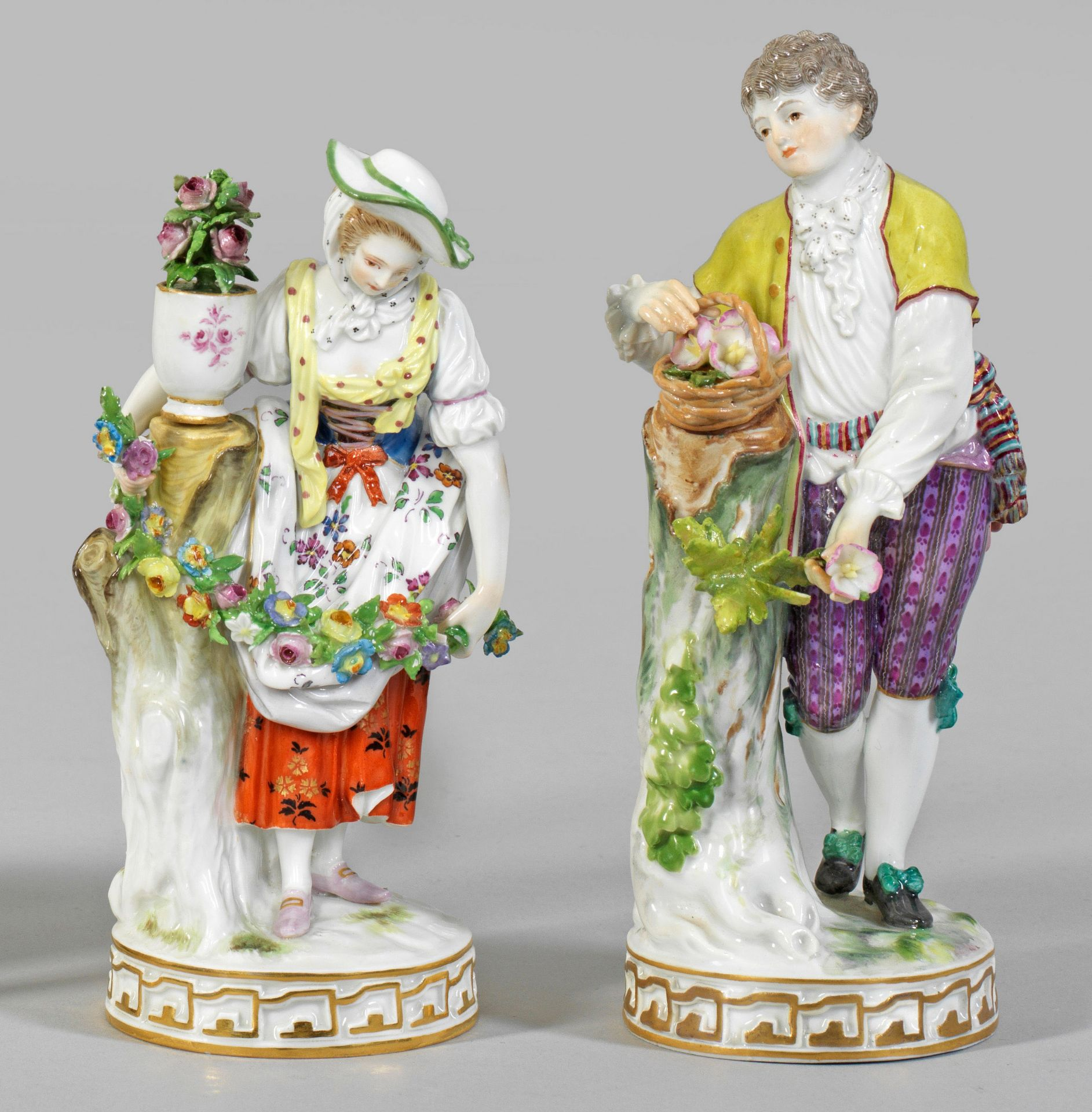 Paar Gärtnerfiguren