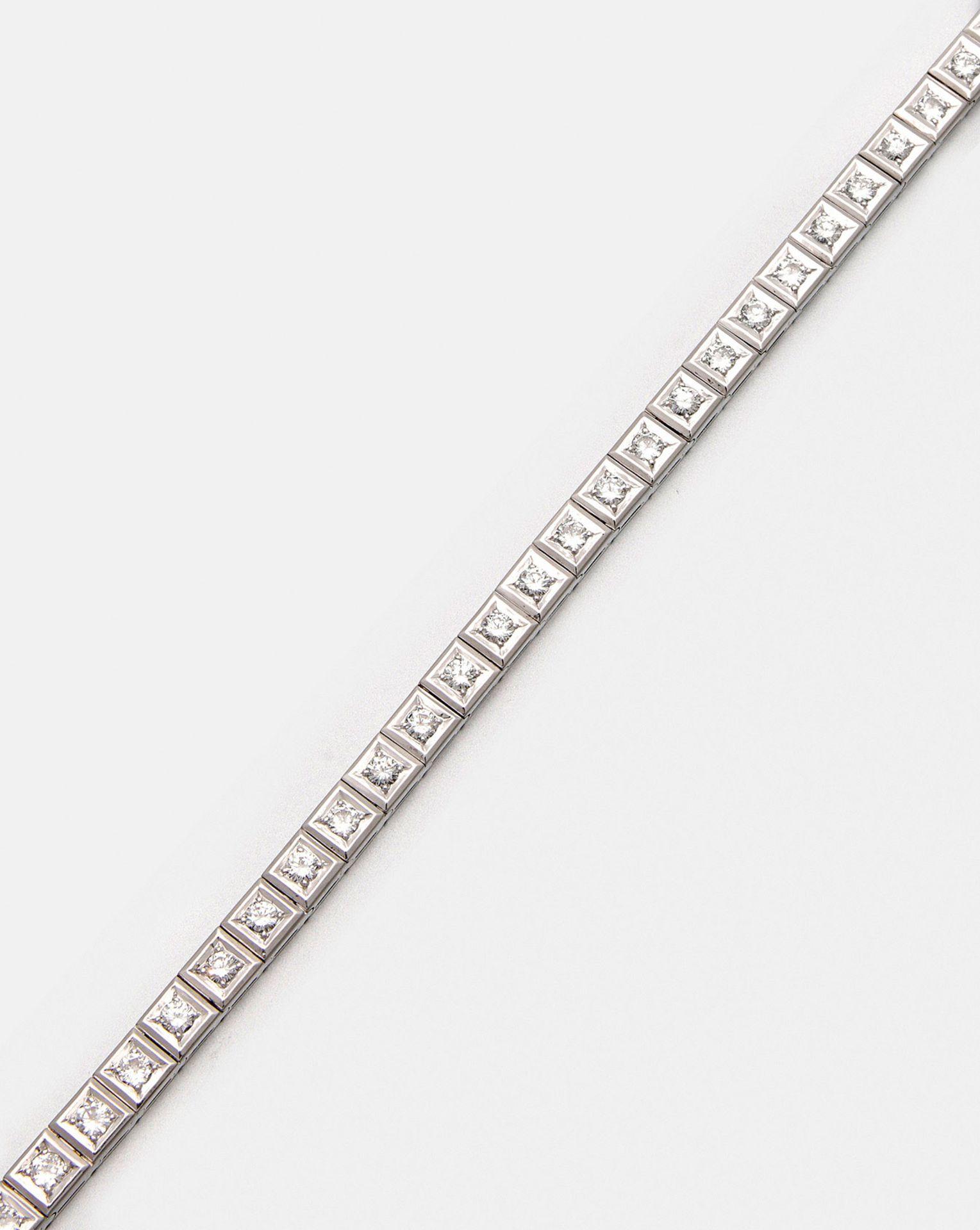 Elegantes Rivière-Brillantarmband