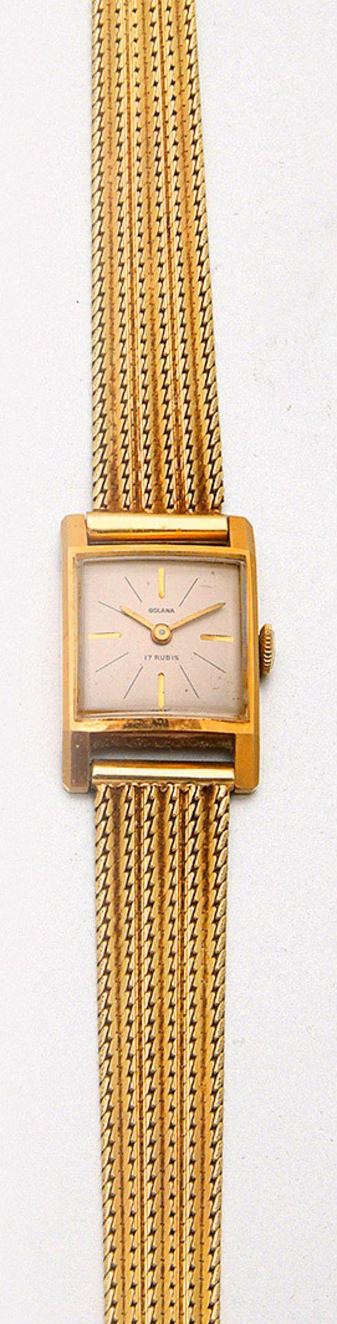 Golana-Damenarmbanduhr aus den 60er Jahren