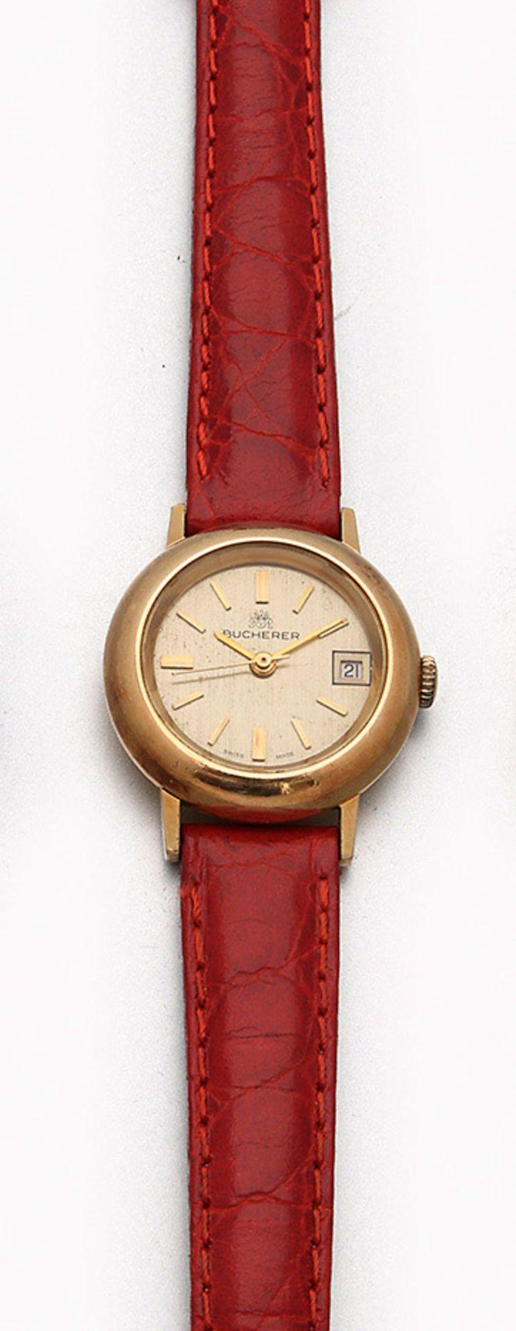 Bucherer-Damenarmbanduhr aus den 70er Jahren