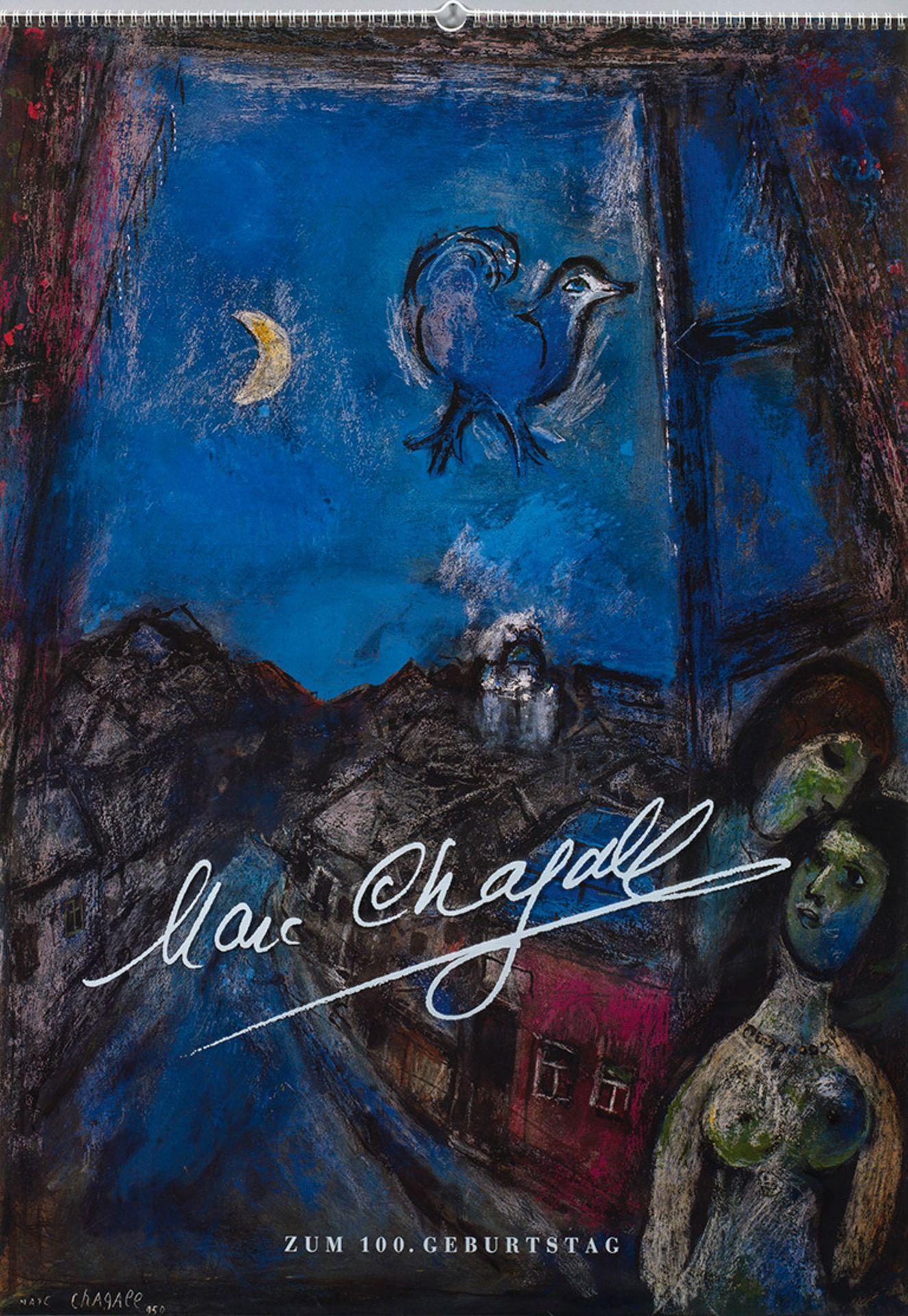 """""""Marc Chagall zum 100. Geburtstag"""". Originaltitel"""