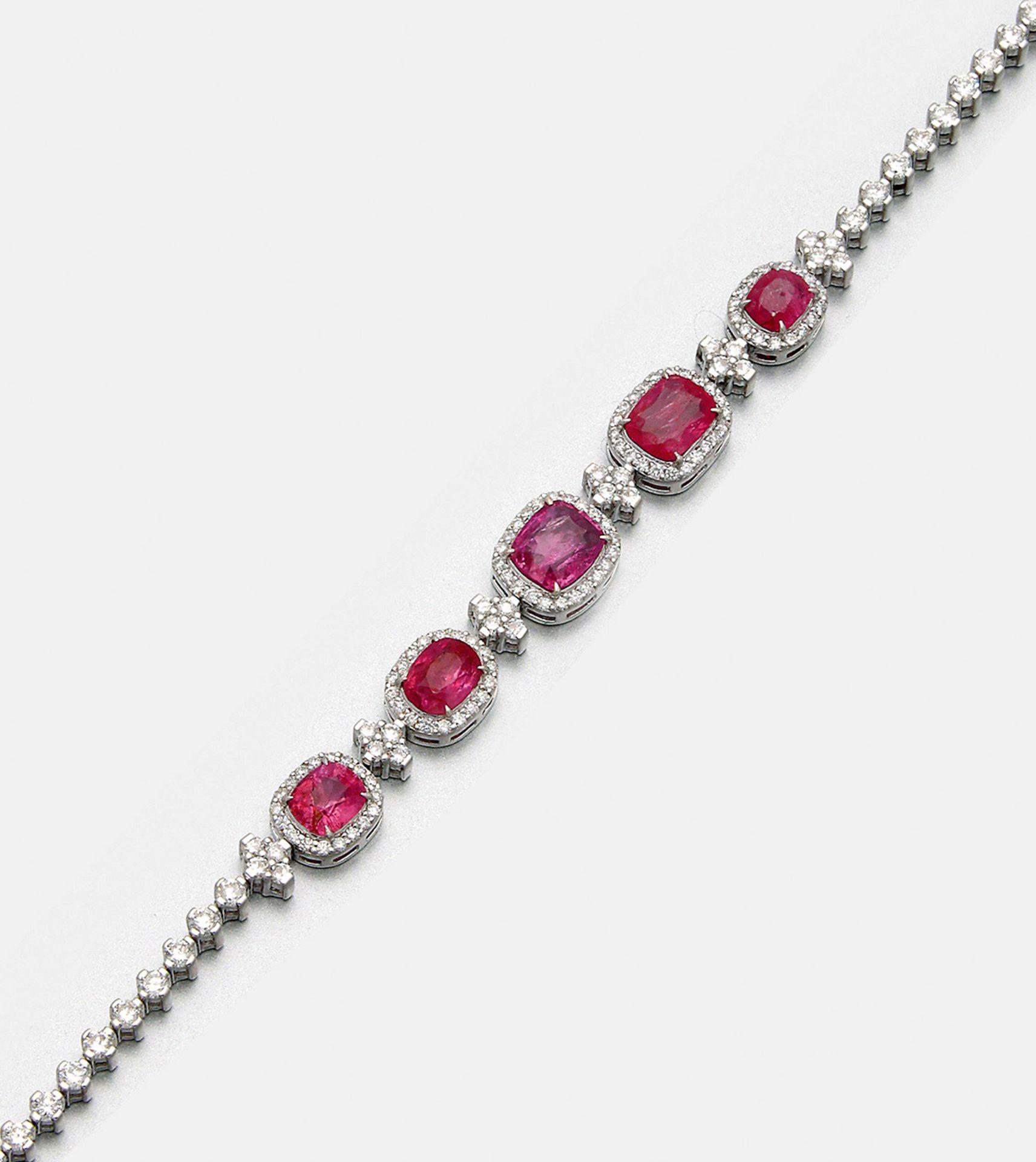 Elegantes Burma-Saphir-Armband