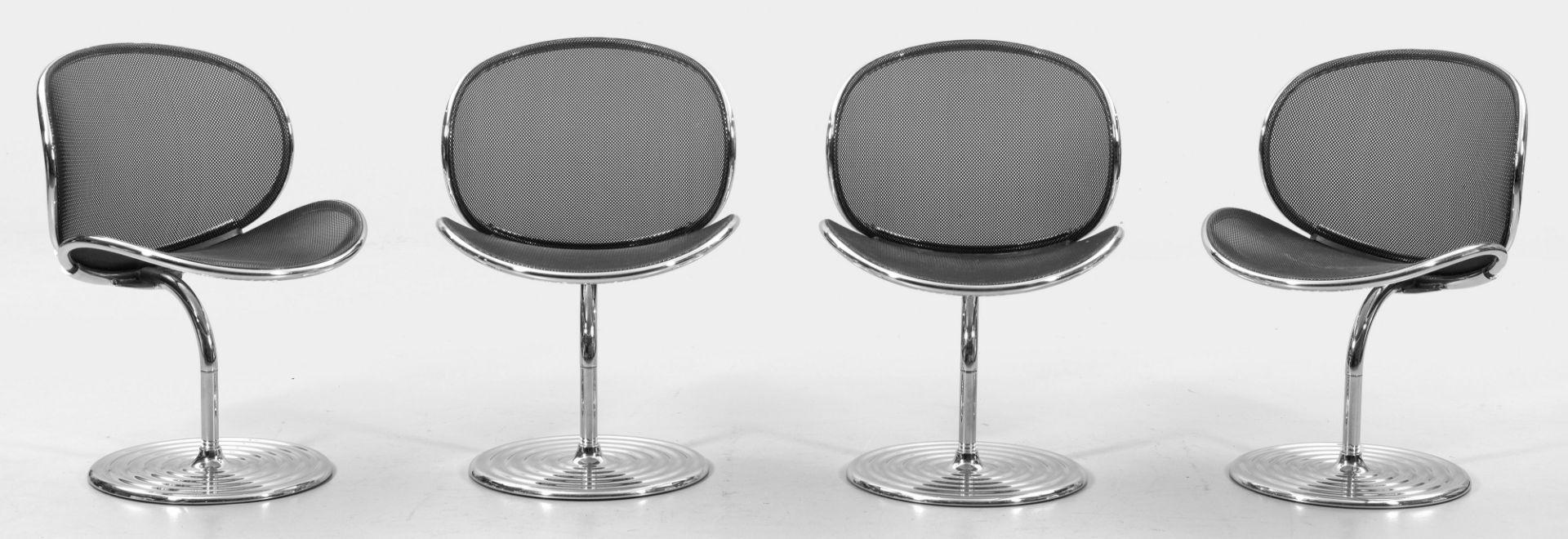 Vier O-line-Lounge Chairs von Herbert Ohl