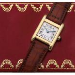 "Klassische Cartier-Damenarmbanduhr ""Tank Normale"""