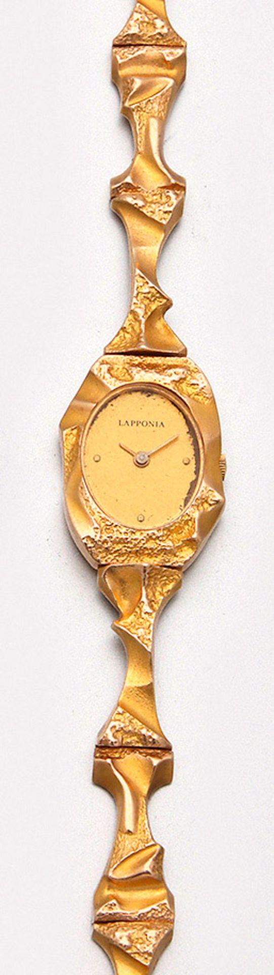 "Lapponia-Damenarmbanduhr ""Pola Negri"""