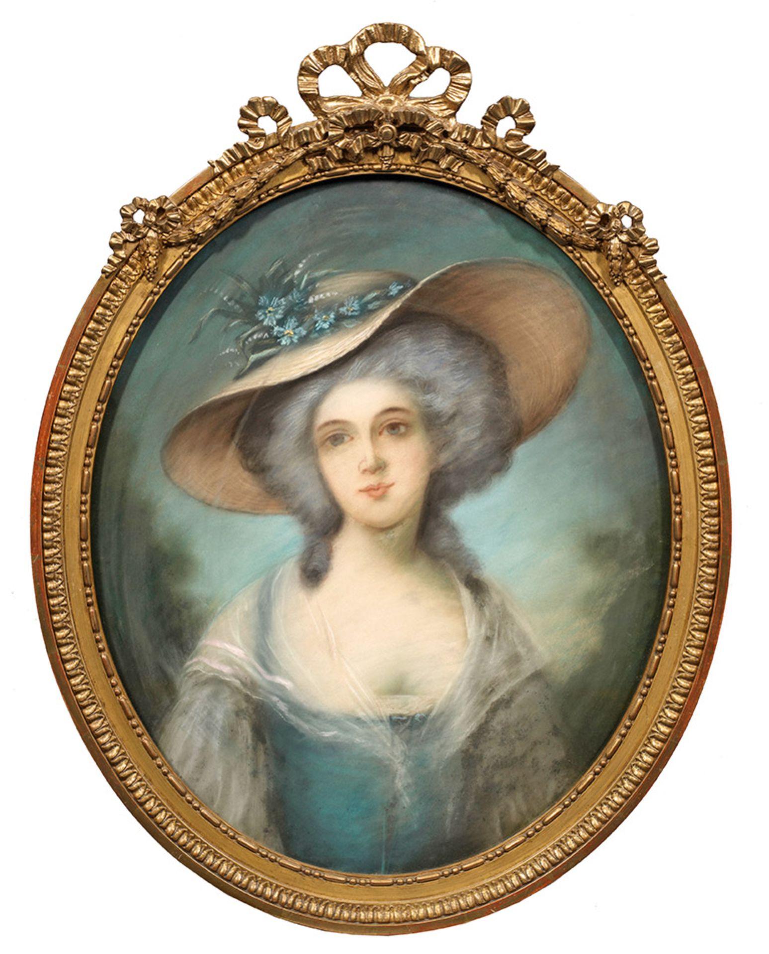 Britischer oder französischer Bildnismaler - Bild 2 aus 2