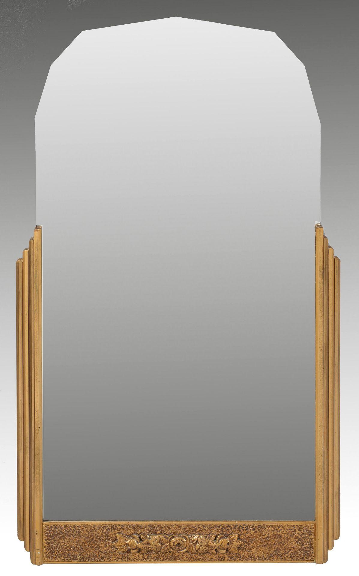 Art Déco-Wandspiegel
