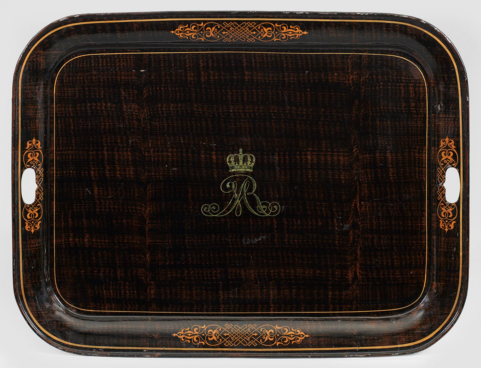 Königliches Tablett des Hauses Hannover