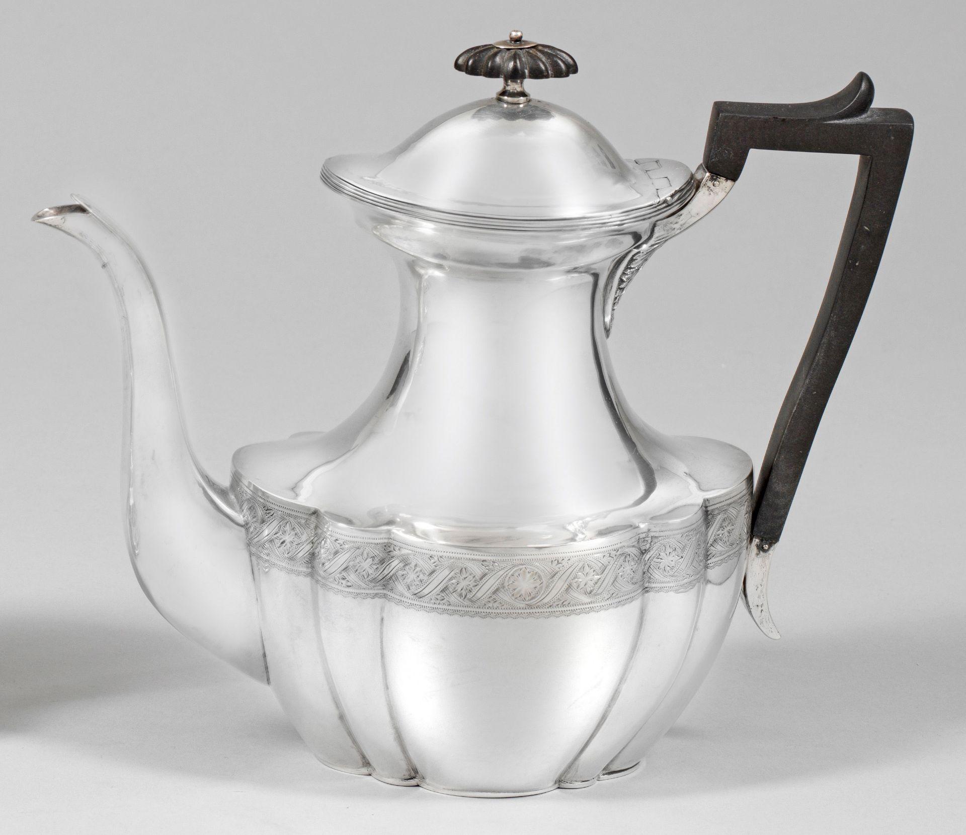 Viktorianische Teekanne
