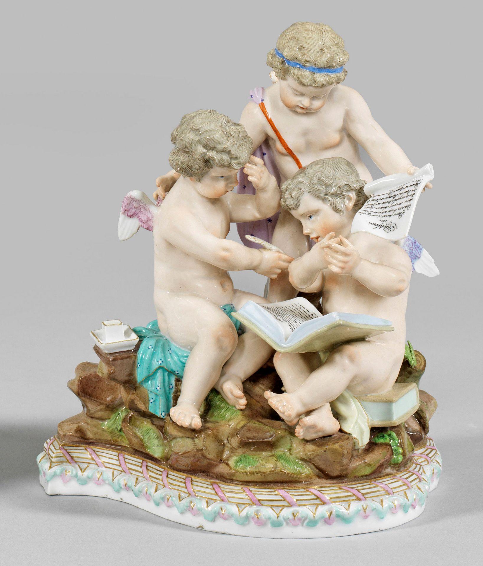 Amorettengruppe als Allegorie der Arithmetik