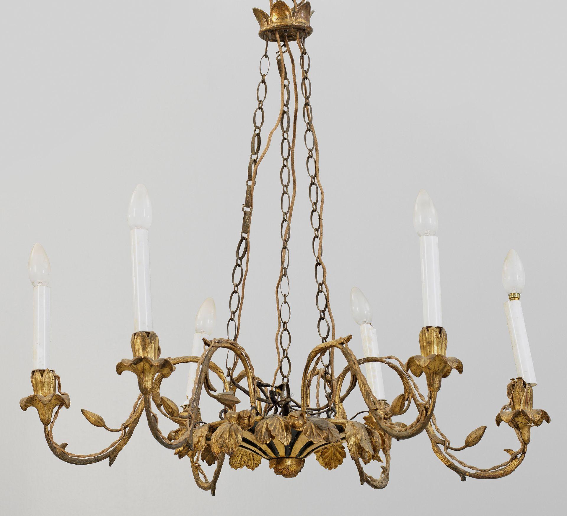 Biedermeier-Deckenlampe