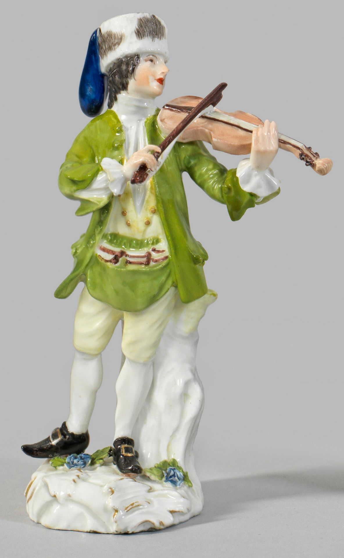 "Geigenspieler aus der Serie ""Cris de Paris"""