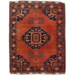 Großer Afghan-Teppich