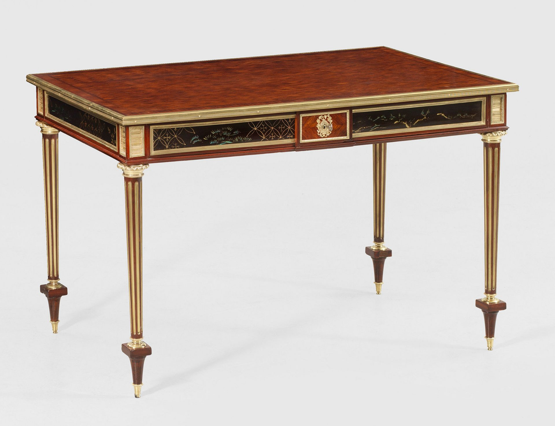 Elegantes signiertes Louis XVI-Bureau plat