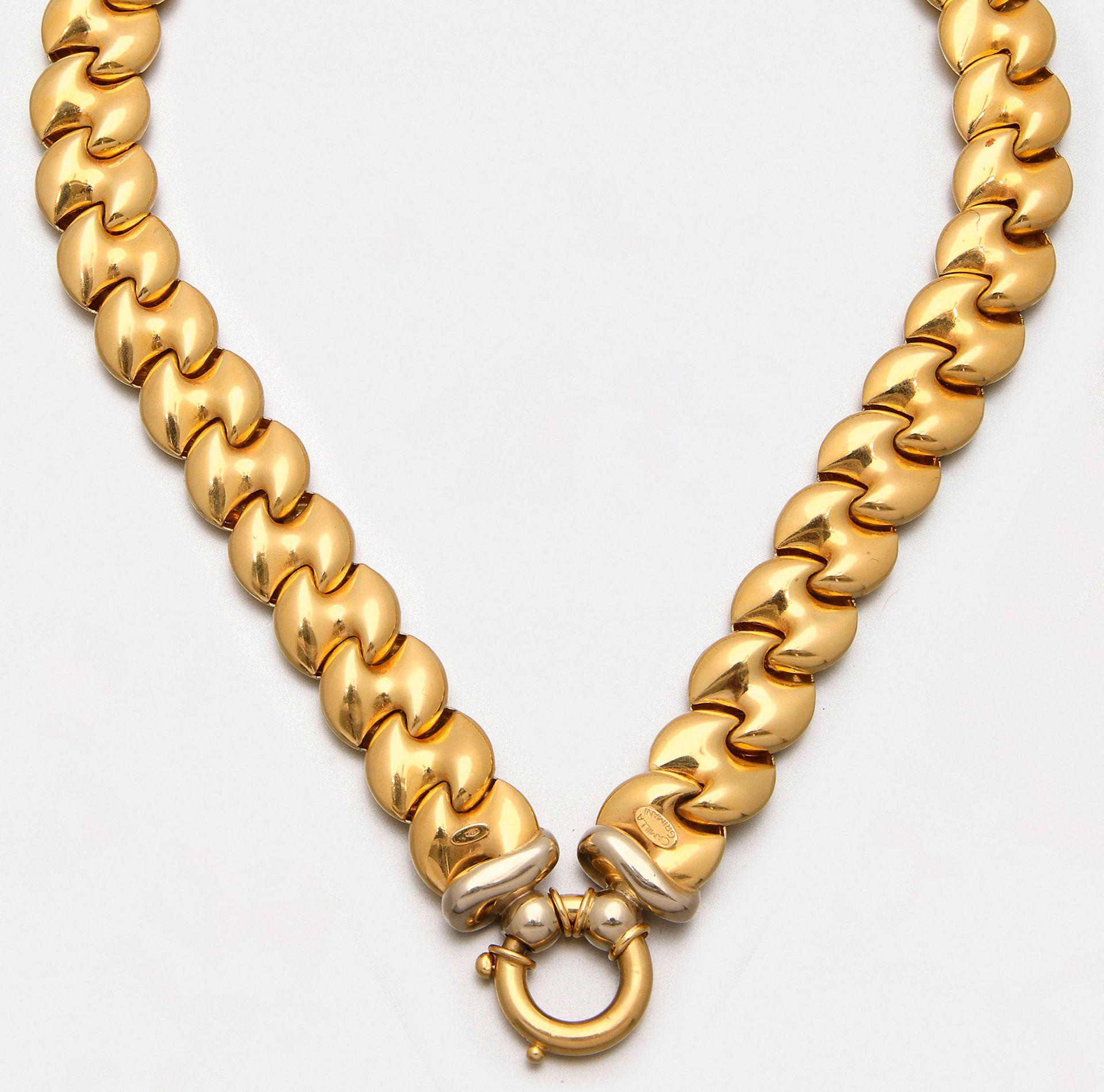Gold-Collier von Camilla Grimani