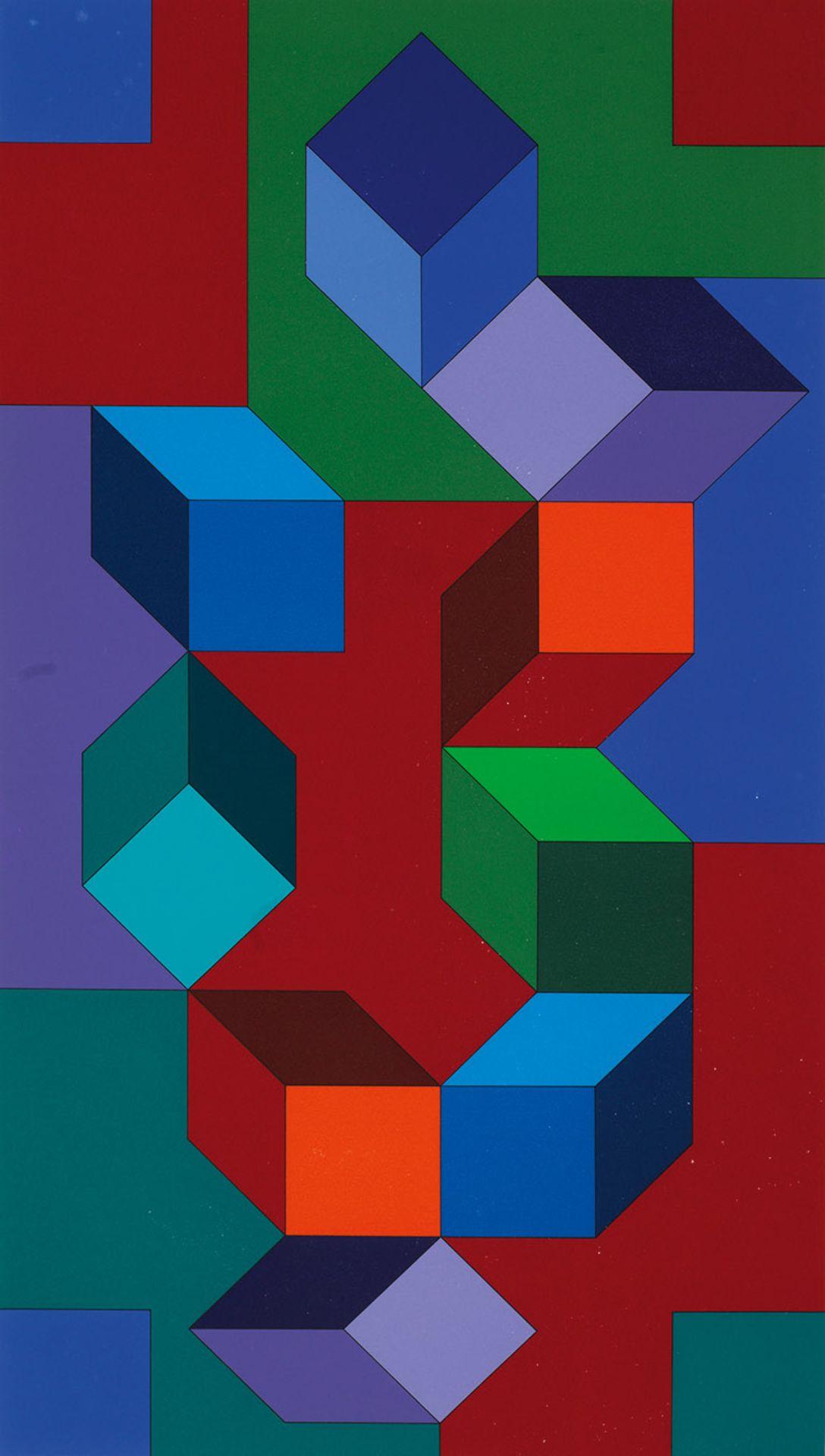 Victor Vasarely - Bild 2 aus 2