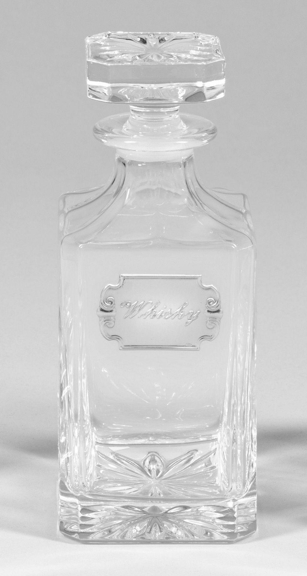 Whisky-Karaffe mit Stöpsel