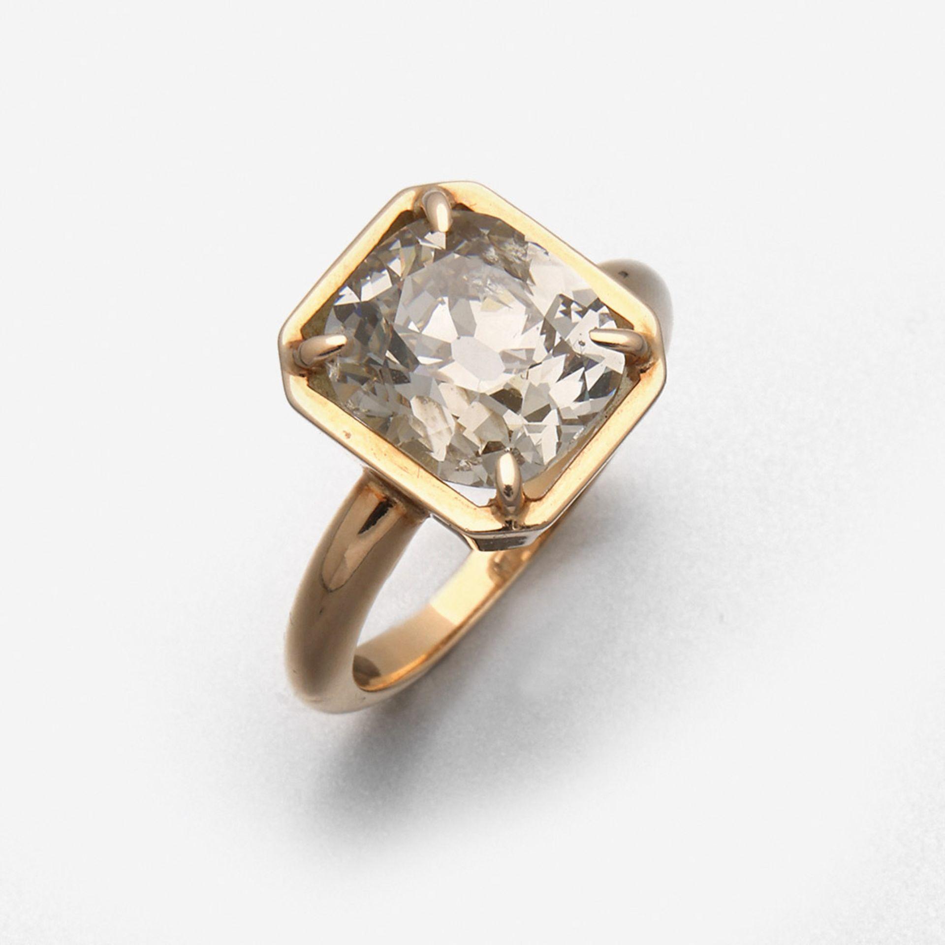 Großer Diamantsolitärring