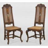 Paar Barock-Tafelstühle
