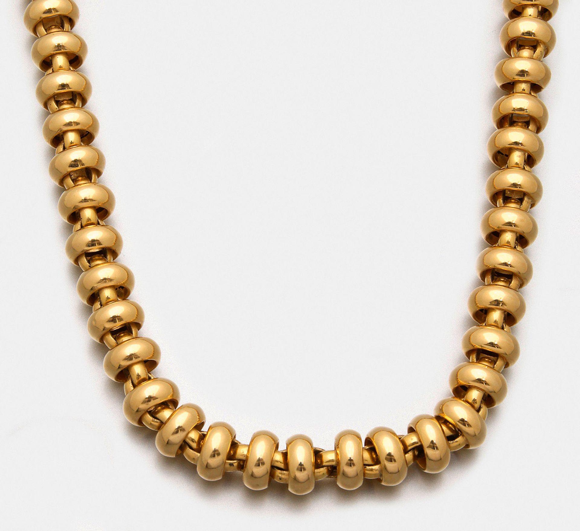 Repräsentatives Goldcollier