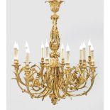 Imposanter Louis XVI-Deckenleuchter