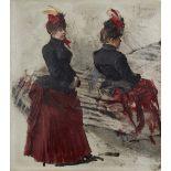 Franz SkarbinaÖlstudie einer Pariserin