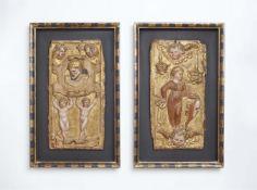 Zwei Renaissance-Reliefs