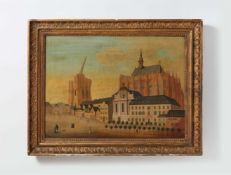 Bilderuhr mit der Ansicht der Kathedrale zu Köln