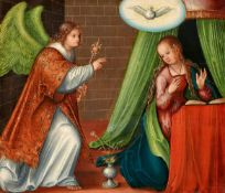 Lucas Cranach d. Ä. und Werkstatt<BR>Die Verkündigung an Maria