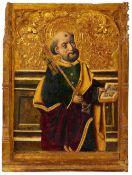 Aragoneser Meister des 15. Jahrhunderts<BR>Der heilige Petrus