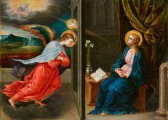 Italo-Flämischer Meister des 16. Jahrhunderts<BR>Verkündigung an Maria