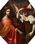 Giovanni Martinelli<BR>Eine Allegorie der Justitia, die Fortuna zwingt, sich Nemesis zu unterwerfen