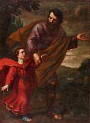 Antiiveduto Grammatica<BR>Der Hl. Joseph mit dem Christusknaben