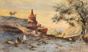 Friedrich Perlberg<BR>Das Grab des Absalom im Tal von Jasapha bei Jerusalem
