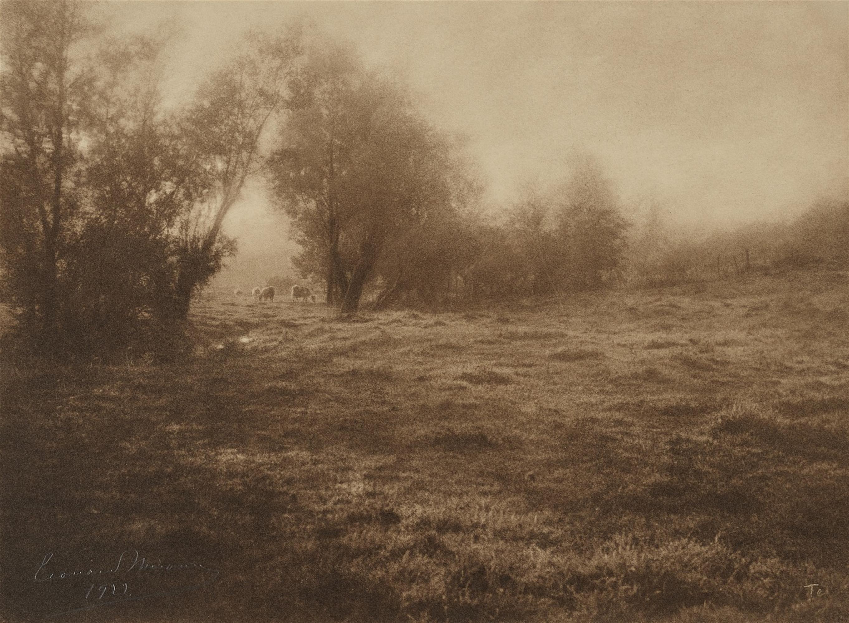 Léonard Misonne<BR>La Prairie