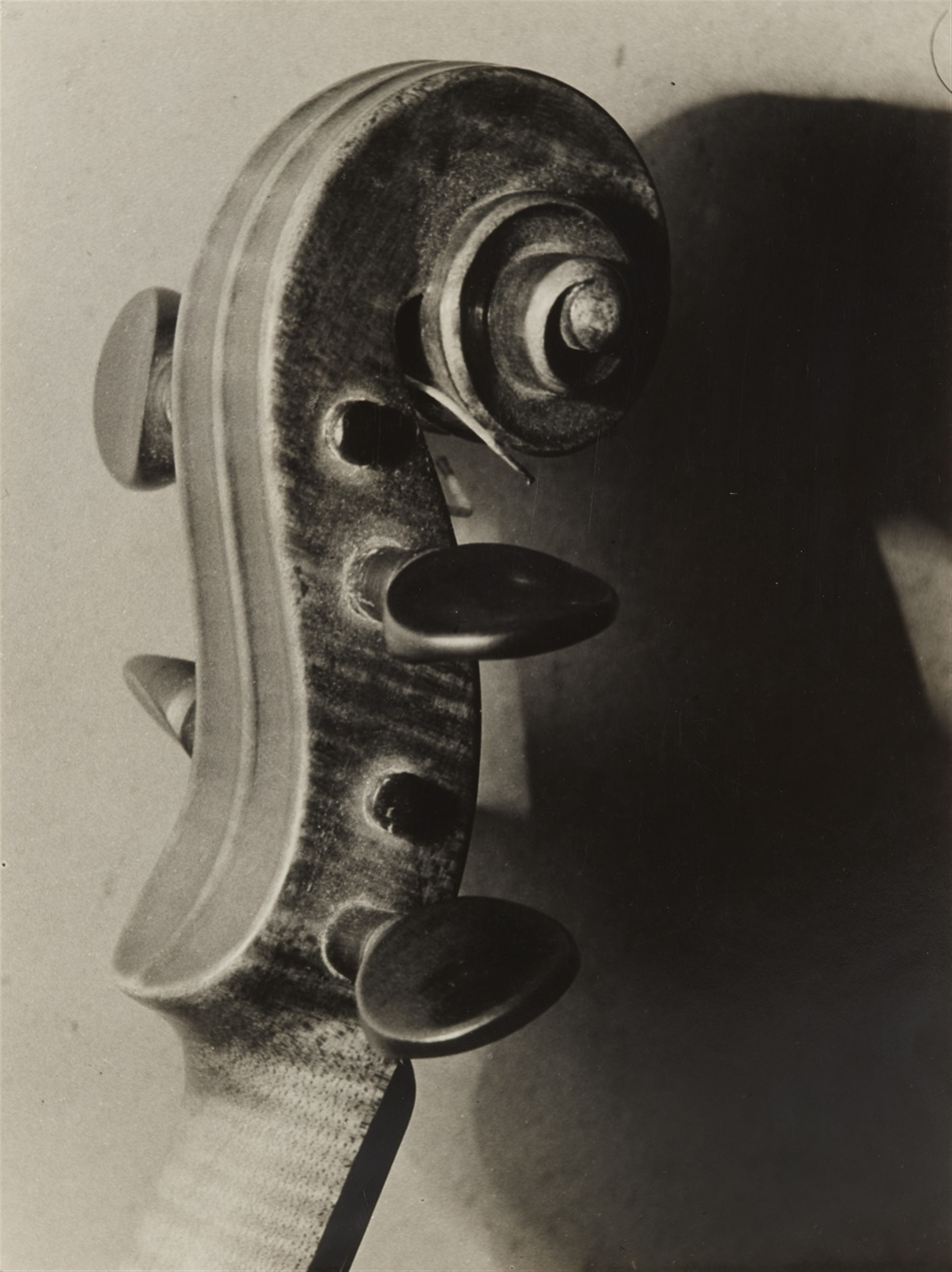 Ladislav Foltyn (Ladislaus Fuszmann)<BR>Untitled (Scroll of a violin)