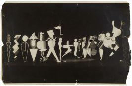 Xanti (Alexander) Schawinsky, Das Figurale Kabinett (Bauhaus-Theater) (N)