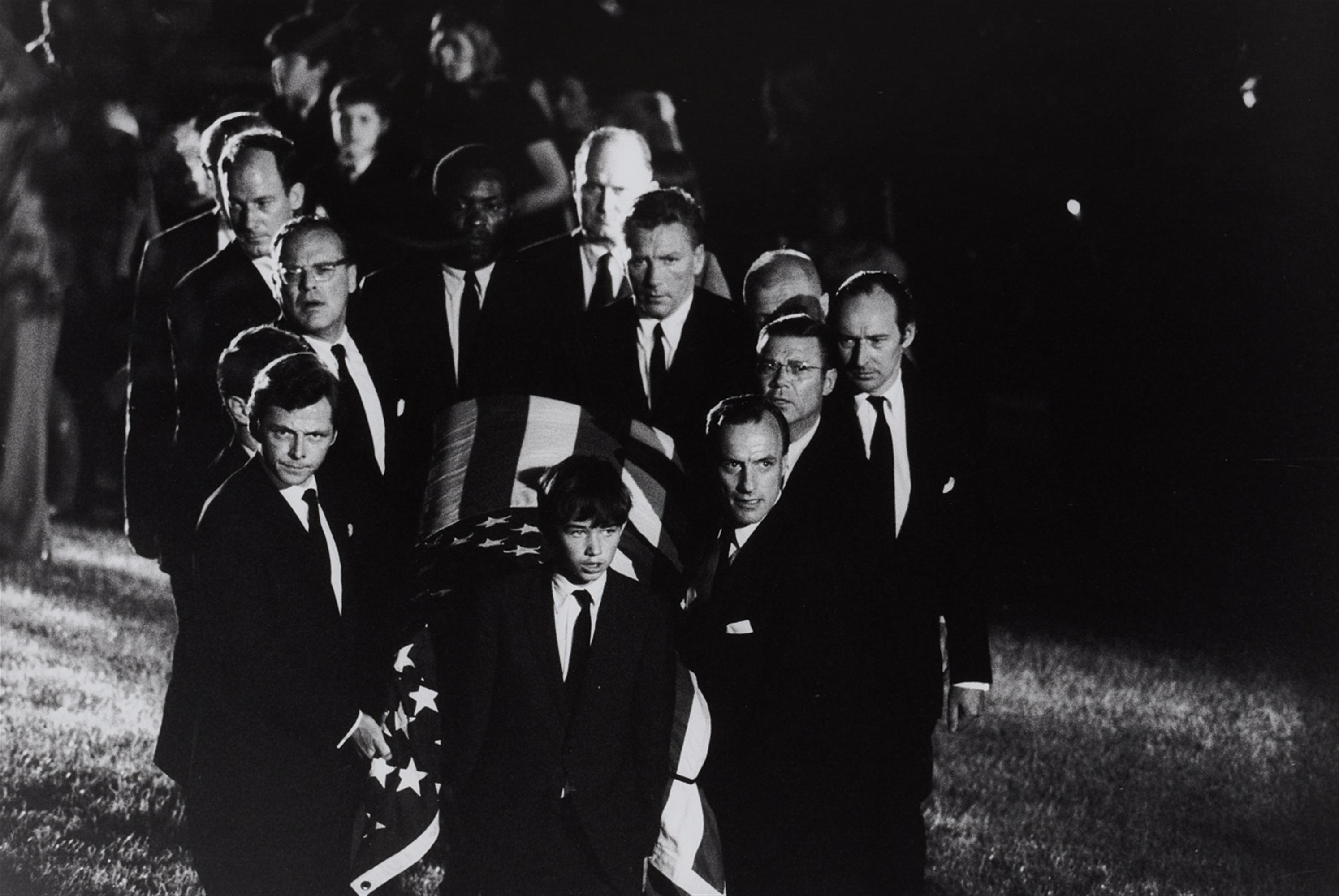 Robert Lebeck<BR>Begräbnis Bob Kennedy