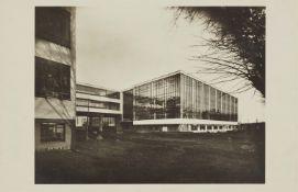 Lucia Moholy<BR>Bauhausneubau, Dessau, Werkstättenbau