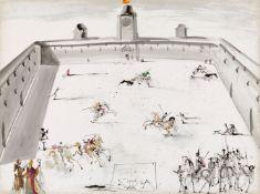 Salvador Dali Y Domenech<BR>Tienta en Espana (Epreuve de corrida en Espagne)