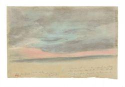 Edgar DegasÉtude de ciel (Rivage et ciel)
