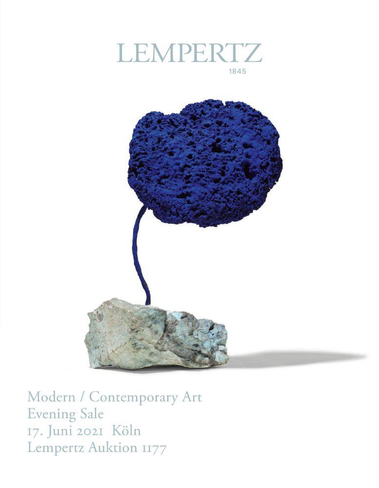 Evening Sale - Moderne und Zeitgenössische Kunst