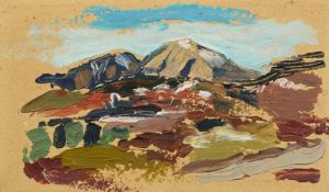 Gabriele Münter<BR>Landschaft