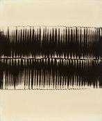 Heinz Mack<BR>Dynamische Struktur Schwarz auf Weiß
